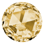 Preview: Swarovski Strass-Steinchen gold (80 Stk.)